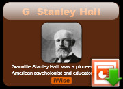 Stanley Hall Powerpoint