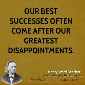 Henry Ward Beecher Quotes