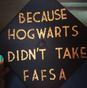 Funny Graduation Cap Ideas This cap pays homage to the