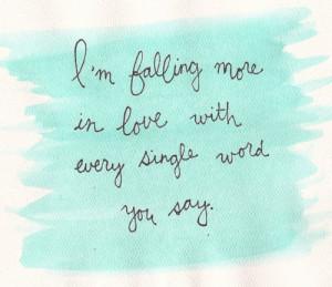 love # falling in love # falling in love with you # boy # girl ...