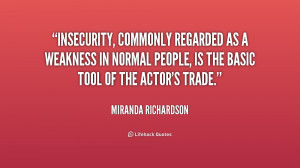 Quotes About Insecurity in Relationships
