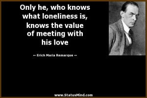Sad And Loneliness Quotes