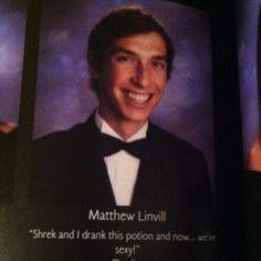 Funny senior quotes...