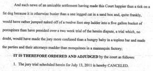 Judge Martin J. Sheehan of Kenton Circuit Court , Kentucky, rejoicing ...