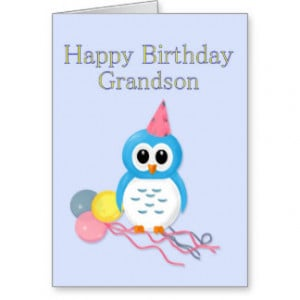 Grandson Birthday Quotes Happy
