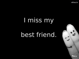 Miss My Best Friends with Dark Background HD Wallpaper, I Miss You ...