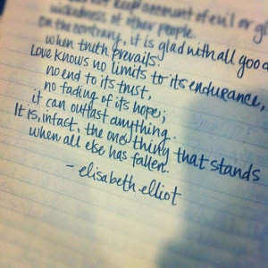 quotes by elisabeth elliot | Quotes / beautiful. elisabeth elliot