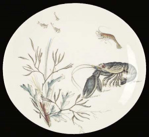Fish (Oval, Cream)