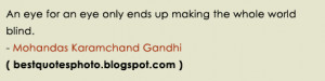 Gandhiji quotes on non violence