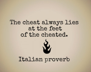 QUOTES ON CHEATING