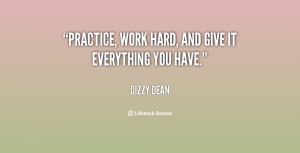 Quotes About Hard Work and Practice