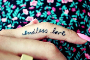 Love Quote Tattoos