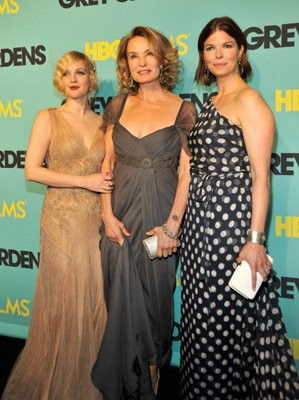 Drew Barrymore, Jeanne Tripplehorn and Jessica Lange at event of Grey ...
