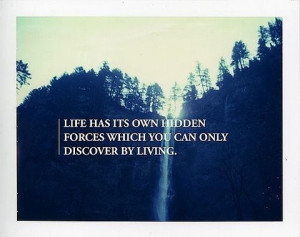 experience, forces, hidden, life, living, quotes, text, thoughts ...