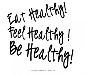 the first step to eating healthy is to stop eating junk food you can ...