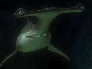 Anchor, a hammerhead shark