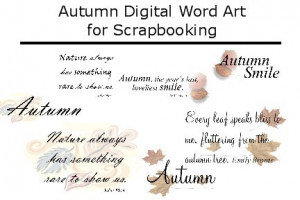 Cousin Sayings Scrapbooking Autumn quotes