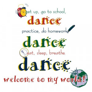 Dance Team Sayings