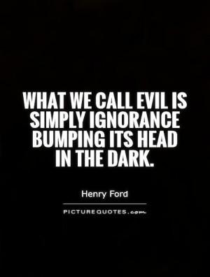 dark evil quotes