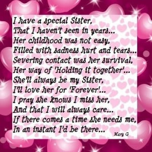 Sister | Inspirational Poems and Quotes, 400x400 in 96.2KB