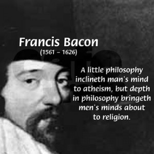 design philosophy quotes. Philosopher Francis Bacon Tile