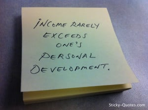 ... to the personal development quotes below for a little inspiration