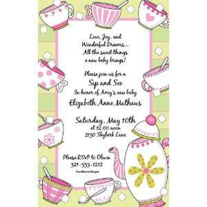Tea Party Invitations Sweet Tea Invitation Health