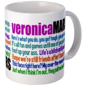 Cute Gifts > Cute Mugs > Veronica Mars Quotes Mug