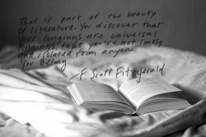 This is part of the beauty of literature. photo: katasiaczek ...