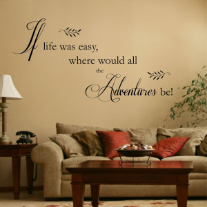 Vinyl wall quote decals wall decor