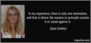 More Jane Smiley Quotes