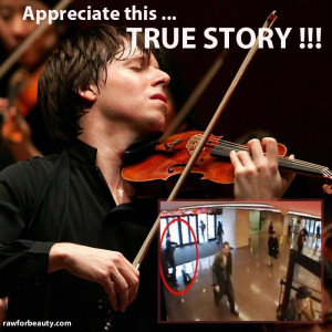 Violin player in subway station [sick society]