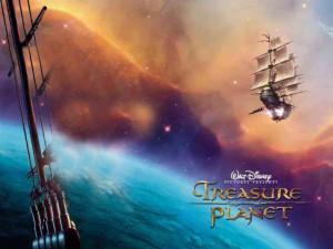 Treasure Planet galaxy ship