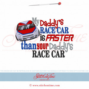 Racing Sayings 5608 sayings : my daddy's race