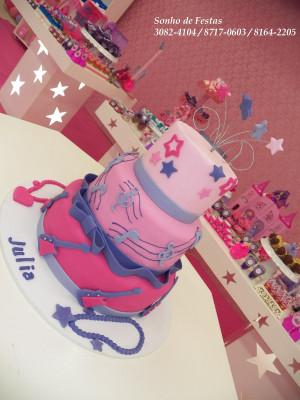 Festa Proven Barbie Princesa Pop Star