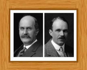 William Lawrence Bragg and William Henry Bragg