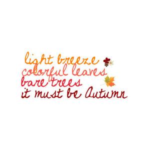 Autumn Tumblr Quotes Autumn quote i love the fall