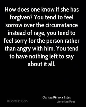 Clarissa Pinkola Estes Forgiveness Quotes