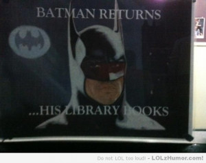 Funny Library Signs