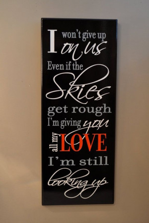 Personalized Love Quote Sign Carved Painted Wood Wall Decor in red and ...