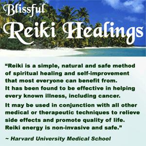 Harvard University Medical School on Reiki Healings