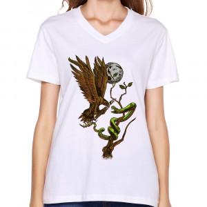 ... -Women-s-T-Shirt-Bird-Vs-Snake-Cool-Quotes-T-Shirts-Woman-Unique.jpg