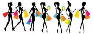 Facebook cover sign I Love Shopping