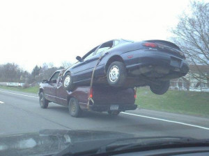 No Money For a Tow Truck? - Image