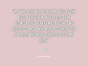 my two boys quotes