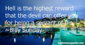 Favorite Billy Sunday Quotes