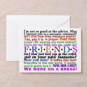 Friends Tv Birthday