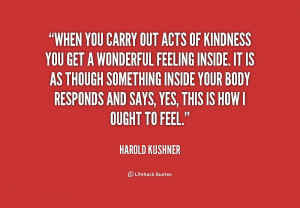 quotes about random acts of kindness