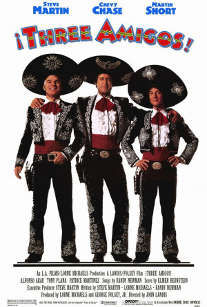THE THREE AMIGOS Quote-Along