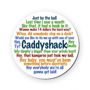 ... Gifts > Bushwood Kitchen & Entertaining > Caddyshack Round Coaster